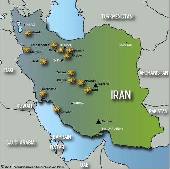 Iranian Nuclear Installations